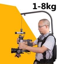 Like EASYRIG 1-8kg video and movie Serene digital camera for dslr DJI Ronin M Three AXIS gimbal stabilizer Gyroscope Gyro steadicam vest