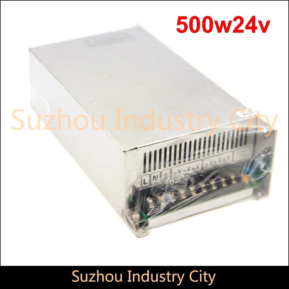 DC alimentation à découpage 110 V/220 V entrée 500 W sortie 24 V DC alimentation interrupteur alimentations! Haute Qualité!