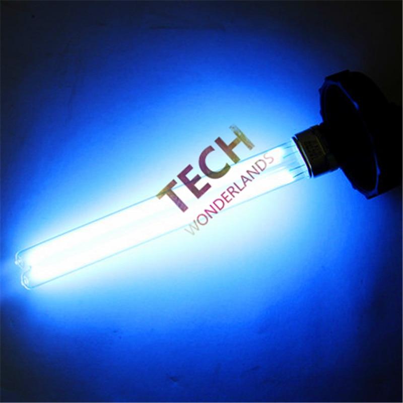 JEBO Acuario Ultravioleta esterilizador UV Esterilizador Lámpara de luz Bombilla tubo 5W 7W 11W 13W 18W 24W 36W