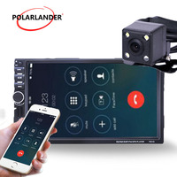 Autoradio 7 Inch Car MP5 Player Mirror Link Screen Bluetooth 2 Din Radio USB/TF FM Aux Touch Screen radio cassette player