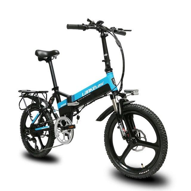 Cyrusher G550 складной полной подвеской, электрический велосипед механические дисковые тормоза 7 скоростей 3 нож колесо e велосипед