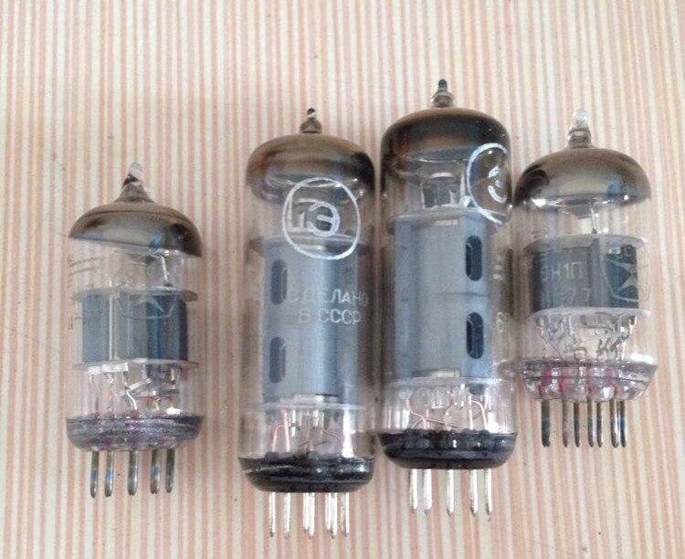 4 шт. (2 шт. 6n1 + 2 шт. 6p1) трубы для nobsound USB/Bluetooth ms-10d MKII HiFi 2.0 вакуумные трубки Усилители Домашние DIY комплекты