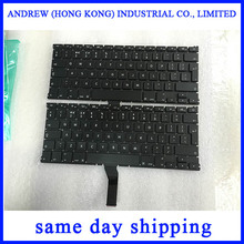Teclado nuevo UK A1369 A1466 para Apple MacBook Air 13 ''A1369 A1466 disposición del teclado UK 2011 2012 2013 2014 2015 años