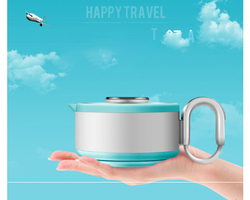 Folding kettle compressed electric kettle travel portable kettle mini thermal kettle 110-220v