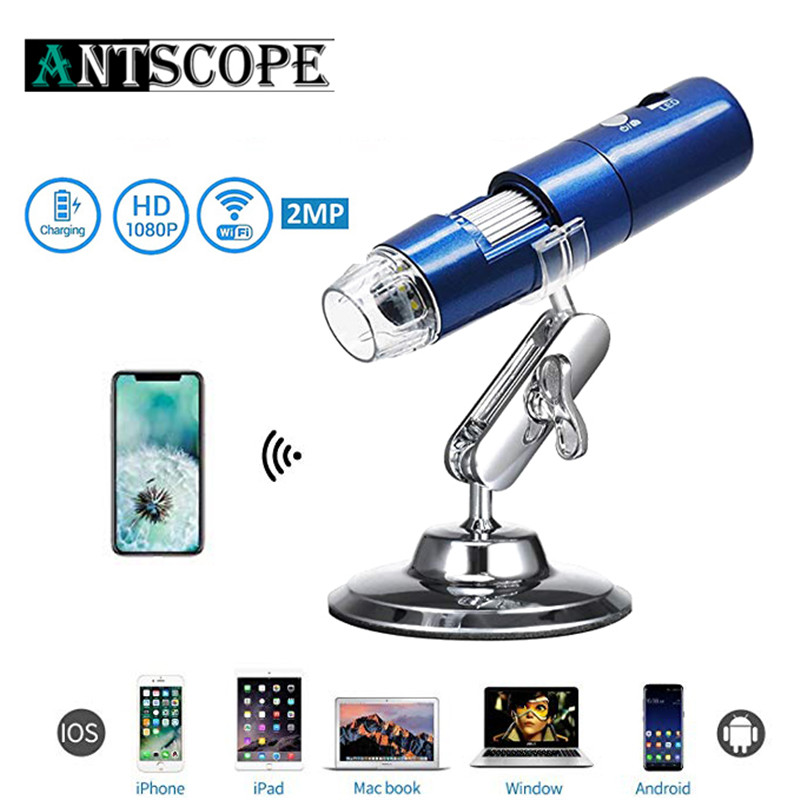 WIFI Digital Microscope pokemon Camera USB 8mm LED Light Red Black Blue Kid Magnification Handheld Mini HD Micro Camera Otoscope