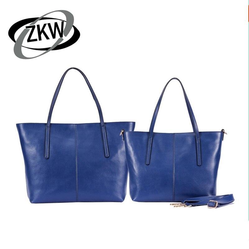 674fc22891da ZKW 2019 Для женщин хорошее качество сумки натуральная кожа модные теплые  женские из натуральной кожи Сумки