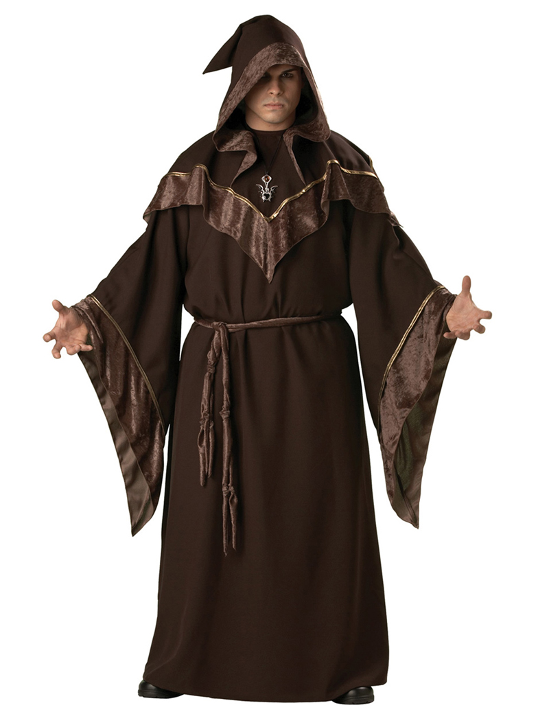 moonight m y xl hombre disfraces de halloween masquerade cosplay disfraces religiosa padrino shaman ropa sacerdote
