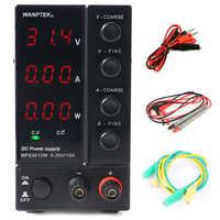 NPS3010W 306W 605W 1203W Mini commutation réglable alimentation en courant continu réglable affichage de l'alimentation 30V 60V 120V 6A 10A 0.1V 0,01a 0.01W