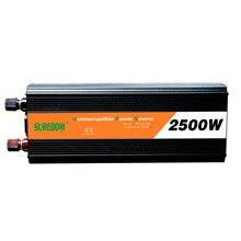 2500 Вт UPS источник бесперебойного питания Солнечный фотоэлектрический инвертор Защита от мощности Защита цепи питания настраиваемая