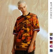 9a82abe7b64 Pink Camouflage O-neck Hip hop T-shirt Men Women 2018 Summer New Fashion