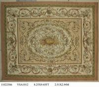 Hand Knitted Carpets Bedroom Carpet Carpets Aubusson Carpet Natural Sheep Wool Square Rug