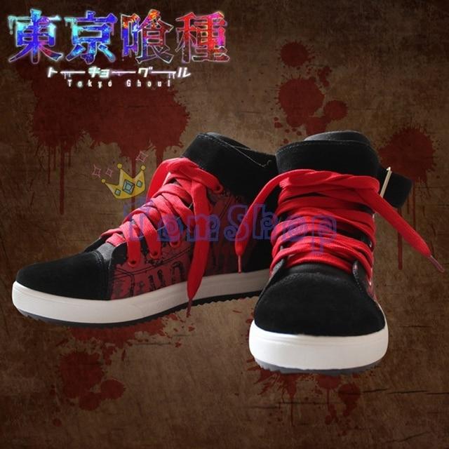 Tokyo Ghoul Kaneki Ken Canvas Sneakers Men's Shoes
