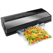 Ytk Food Vacuum Sealer Verpakking Sluitmachine Inclusief 5 Stuks Zakken En 1Pcs Vacuümzak Verpakking Rolls 20cmX200cm 220V 110W