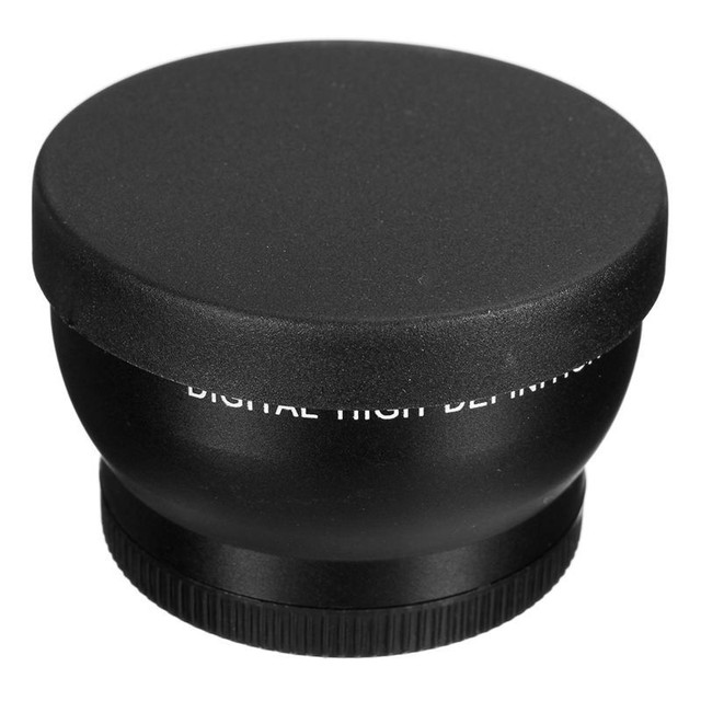 52MM 2X Telephoto Lens For Nikon D7100 D5200 D5100 D3100 D90 D60 and Other DSLR Camera Lenses With 52MM Filter Thread New