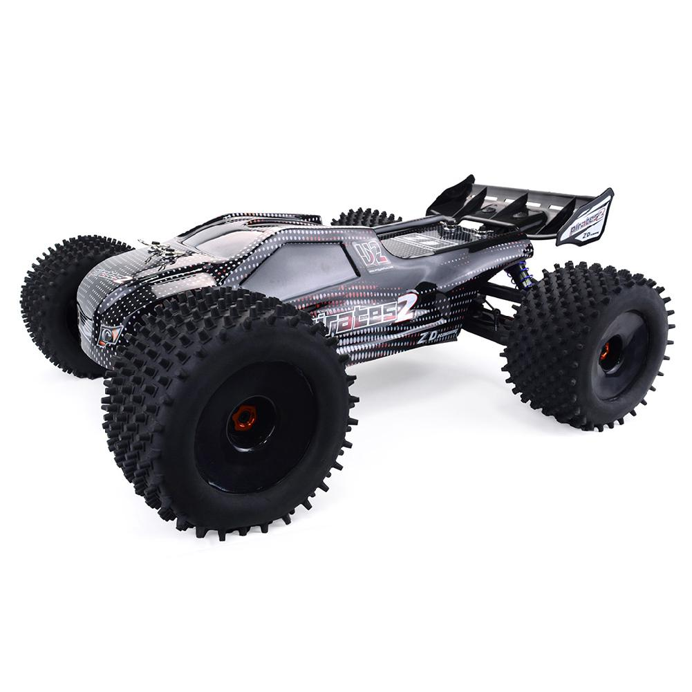 LeadingStar ZD Racing 9021-V3 1/8 2.4G 4WD 80km/h Brushless Rc Car Full Scale Electric Truggy RTR Toys  - buy with discount