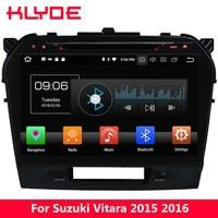 KLYDE 10.1 IPS Android 8.0 4G WIFI Octa Core 4GB RAM 32GB ROM Car DVD Player Radio GPS Navigation For Suzuki Vitara 2015 2019