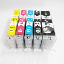 PGI-470 CLI-471 Ink Cartridge For Canon PGI470 CLI471 Pixma MG7740 MG6840 MG5740 TS9040 TS8040 TS6040 TS5040 Printer