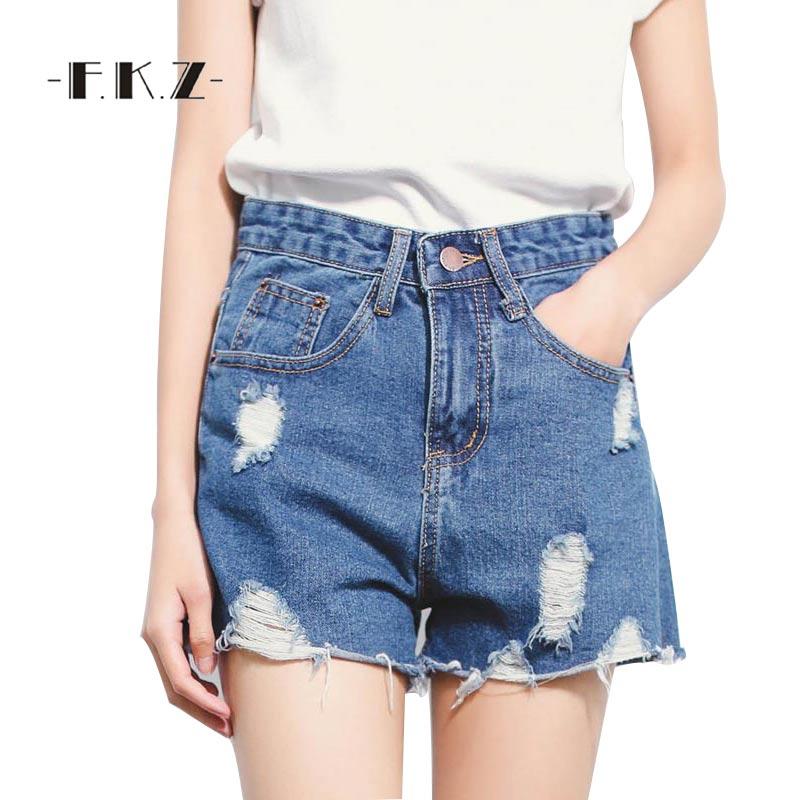 Online Get Cheap White Denim Destroyed Shorts -Aliexpress.com ...