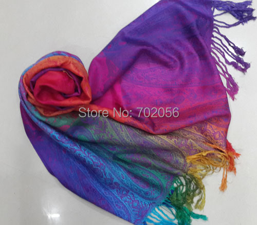 Colorful new feeling cotton blend paisley Scarf,shawl,wrap Neckscarf headscarf Hijabs #3452