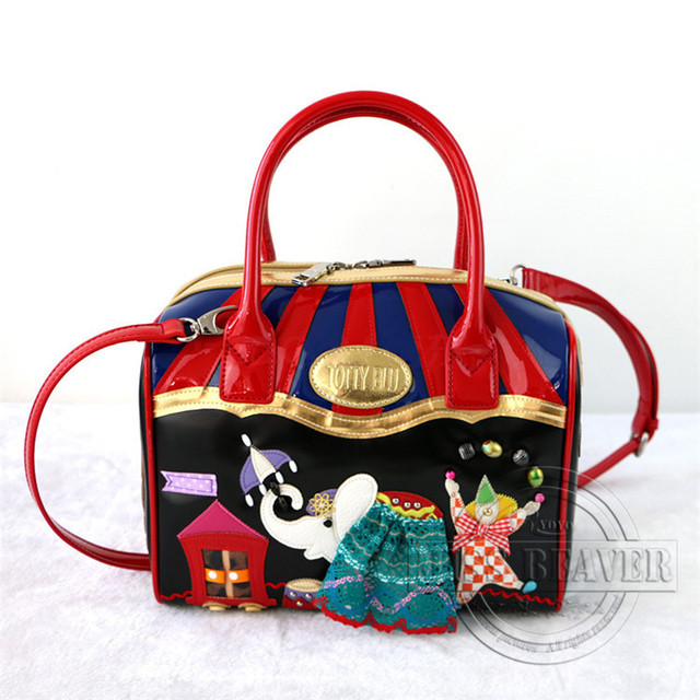 b4cb529a0c Borsa Tottyblu Braccialini Italy Handicraft Women Vintage Shoulder Bag Tote  Bag Handbag The Circus