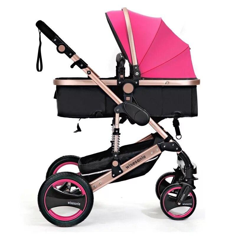 Baby Stroller 2 in 1 Stroller ტყუის ან - ბავშვთა საქმიანობა და აქსესუარები - ფოტო 5