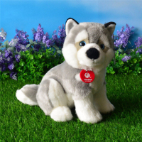 Free Shipping Simulation Husky Plush Toys Cute Alaskan Malamute Stuffed Toy Soft Puppy Plush Dolls Children's Day Gifts