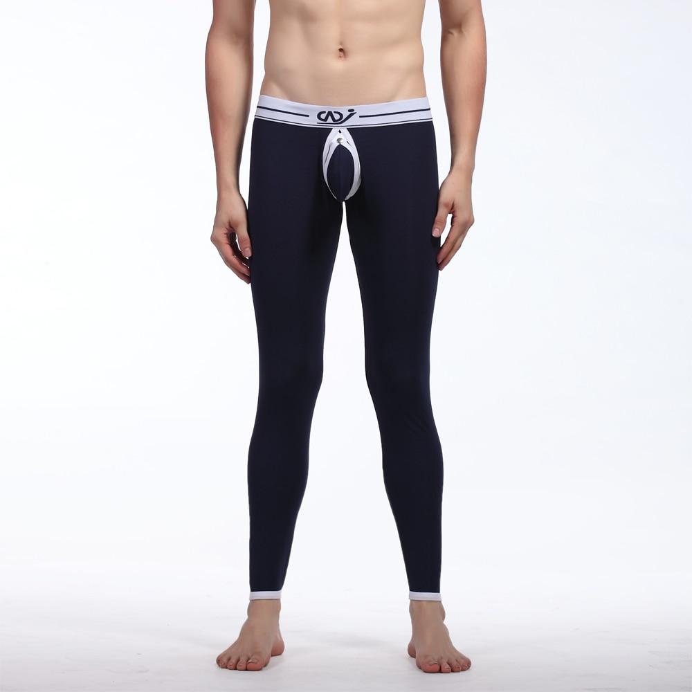Wangjiang Men Thermal Underwear Comfy Sexy Long Jo