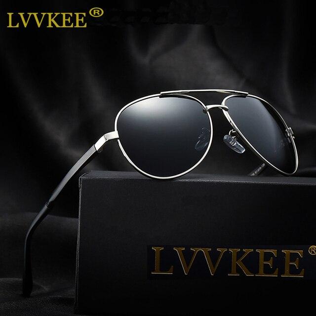 013bbc9221 LVVKEE Aluminum Magnesium Polarized Men Sunglasses Unisex Brand Design Anti- Glare Protect Driving Sun Glasses