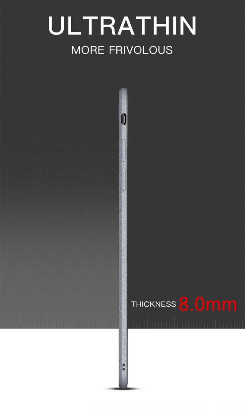 럭셔리 울트라 슬림 매트 스크럽 Xiaomi Redmi S2 3S 4A 5 플러스 6A 3 4 4X 5 5A 6 7 프로 안티 지문 TPU 커버