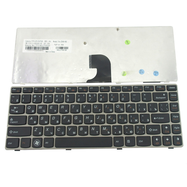4bf0e71757b NEW for Lenovo/IBM Ideapad Z360 Z 360 series laptop RU Laptop Keyboard  Russian Wholesale Replacement Parts (K2593). Price: