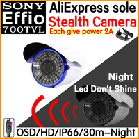 Discount Sony Hd CCD Effio Surveillance Camera Real 700TVL Analog 960 Outdoor Waterproof IP66 Infrared Night