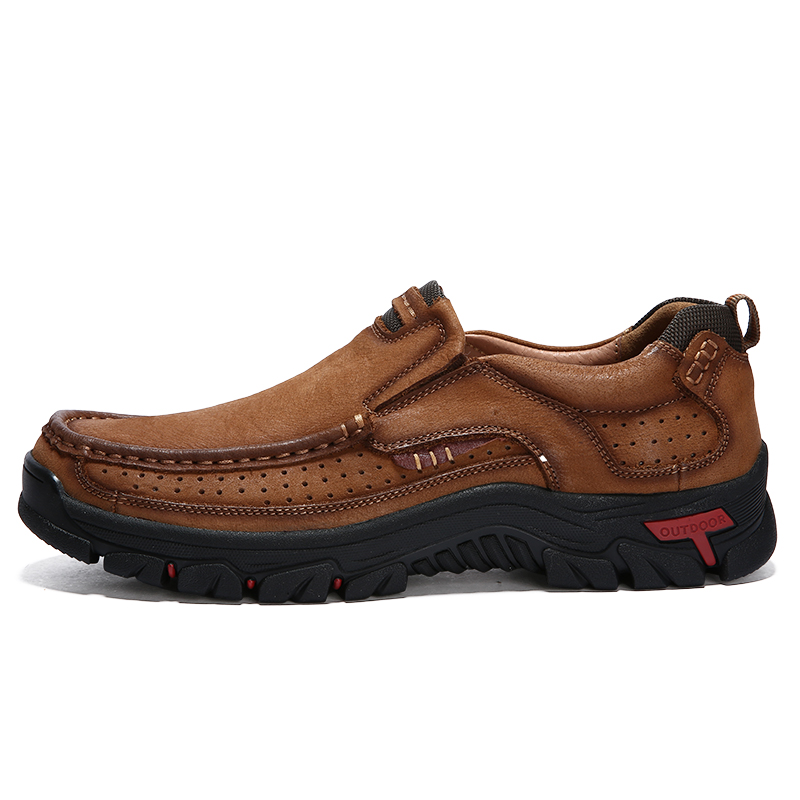 Homens 38 Primavera Confortável 44 3237 Genuíno Alta Tamanho Novos De 2018 Khaki Brown Sapato 3237 Outono Couro Qualidade Flats Masculino Sapatos PZdBtq