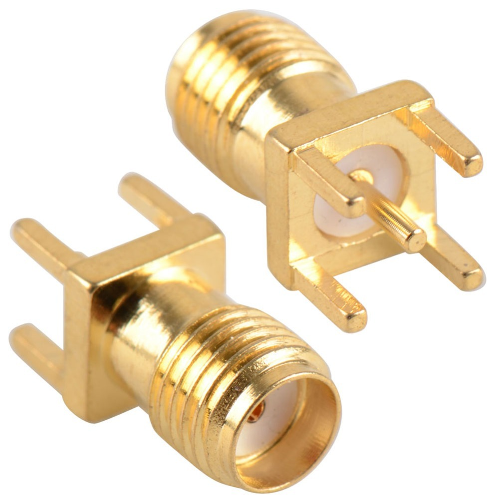 2015 Hot End Launch PCB Mount SMA Female Plug Straight RF connector Adapter low price VC478 P10