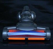 Motorized FLOOR เครื่องมือไฟฟ้าหัวแปรงสำหรับ Dyson V6 DC44 DC45 DC62 DC61 DC58 DC59 DC74 เครื่องดูดฝุ่น Dyson ชั้นแปรง
