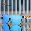 HU дерево 2018 бренд Винтаж Стиль Солнцезащитные очки для женщин Для мужчин плоский объектив без оправы квадратной Рамки Для женщин Защита от солнца Очки Мода Óculos Gafas grs8021 - фото