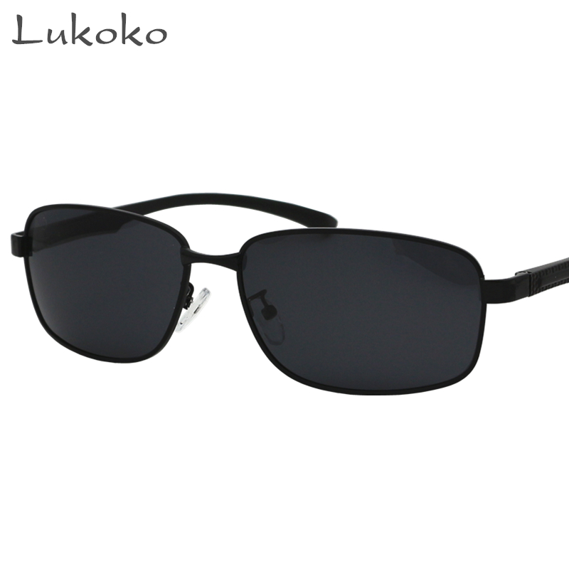 Lukoko Polar Gozluk Italian Eyewear Black Mens Luxury Brand Sunglasses Men Polarized Glasses Driver Fishing Sun Glasses Male 90s