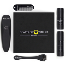 4 Pcs/set Barbe Beard Growth Kit Hair Growth Enhancer Set Beard Growth Essentital Oil Facial Beard C