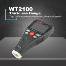WINTACT WT2100 Mini Digital Coating Film Iron Thickness Gauge Car Meter Paint Painting Tester Handheld Testing Color LCD