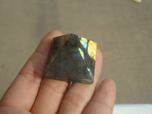 Natural Moonstone natural labradorite pyramid Decoration PA1016