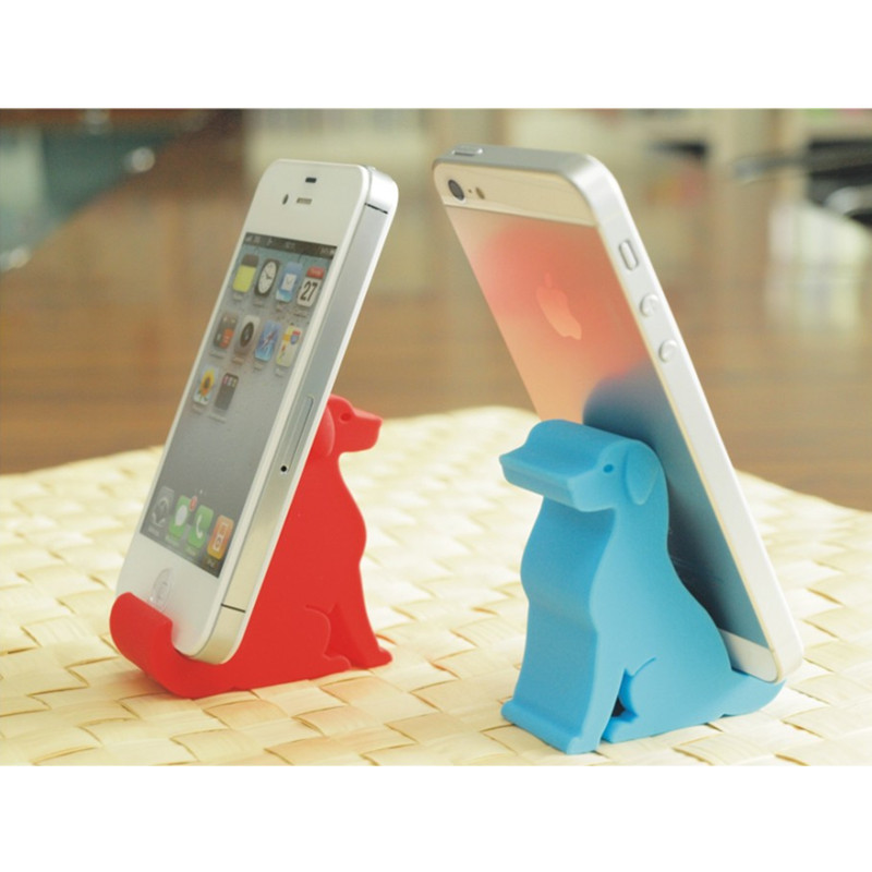 Free Shipping Cartoon Animal Silicone Mobile Phone Holder