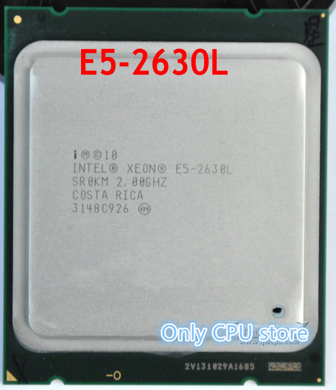 Aggressiv Intel Xeon E5-2630l E5 2630l 2,0 Ghz Lga2011 Buchse 6-core Intel Server Prozessor E5 2630l Cpu