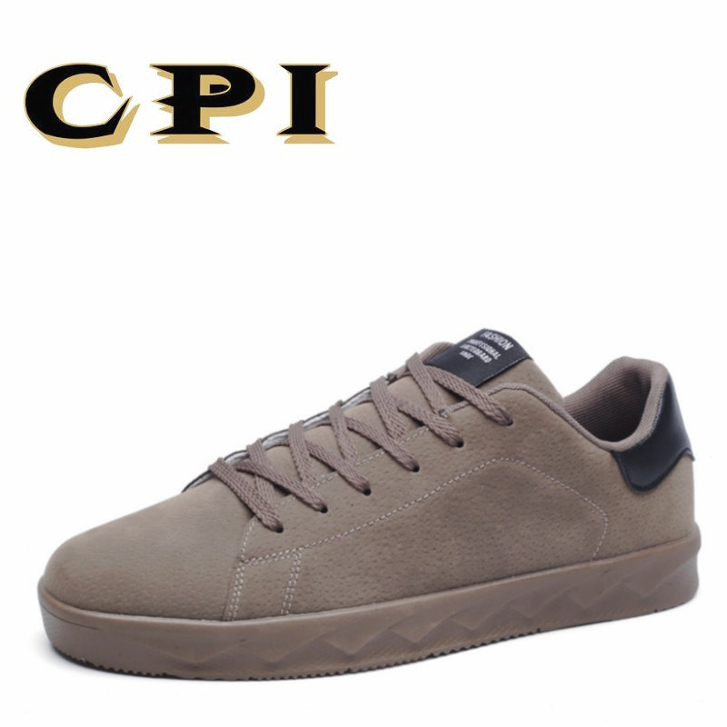 CPI 2018 New sneakers Men Flats Shoes Breathable Fashion Men Casual Shoes Breathable Comfortable Walking shoes PP-207 2017 new spring imported leather men s shoes white eather shoes breathable sneaker fashion men casual shoes