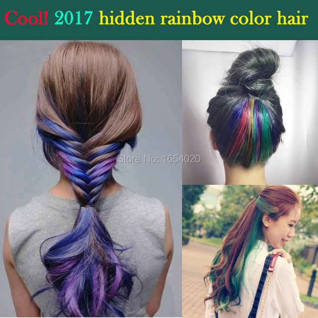 How To Color Hair With Hair Chalk