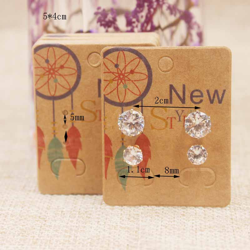 Zerong-new-arrival-50Pcs-Earrings-Package-Ear-Stud-Card5-4cm-Jewelry-Display-Hang-Tag-print-card (1)