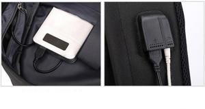 Image 4 - Monsta X Wanna One Jisoo Lisa Korean Style Backpack School Bags Mochila Travel Laptop Bags With Chain USB Headphone Port