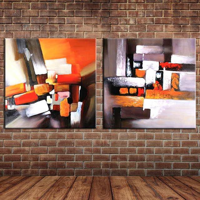 Large Wall Mural Pictures Decoration Modern Group Oil Painting Canvas Art For Home Bar Office Decor