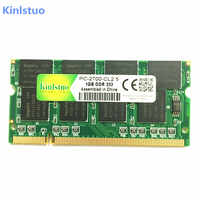 Kinlstuo novo ddr1 1 gb ram pc2700 ddr333 200pin sodimm portátil memória ddr 1 gb frete grátis