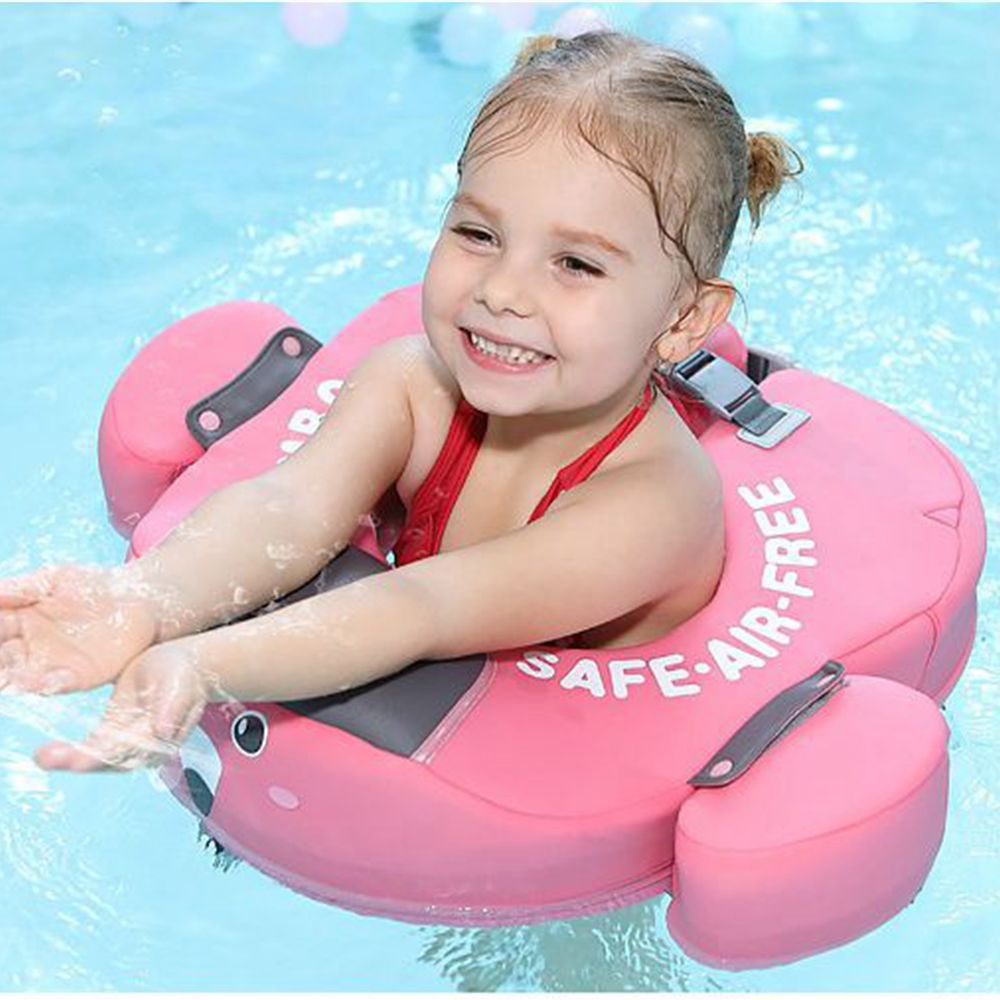 Solid Safety Not Need Inflatable Removable Swimming Floating Ring Float Swim Ring For Accessories Baby Children
