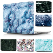 Marble Stone Pattern Print Hard Case for Macbook Pro 12 13 15 15.4 Laptop Bag Cases Cover for Apple Mac Air 11.6 13.3 Shell