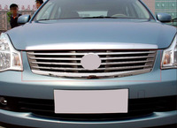 FITS For 2006 2008 Nissan Sylphy Sentra OEM Factory Style Front Grille Grill Mesh Cover 1pc